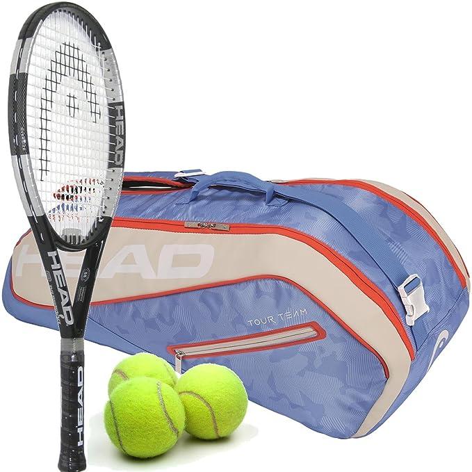Amazon.com: HEAD Liquidmetal - Juego de 8 palas de tenis de ...