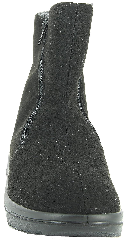 Florett Ina 46451 Damen Stiefel, Stiefelette, Stiefel, Stiefel, Stiefel, Winterschuh, reines Schurwollfutter, Weite K für volle Füße, doppelte Reißverschlüsse für einfaches anziehen 62531d
