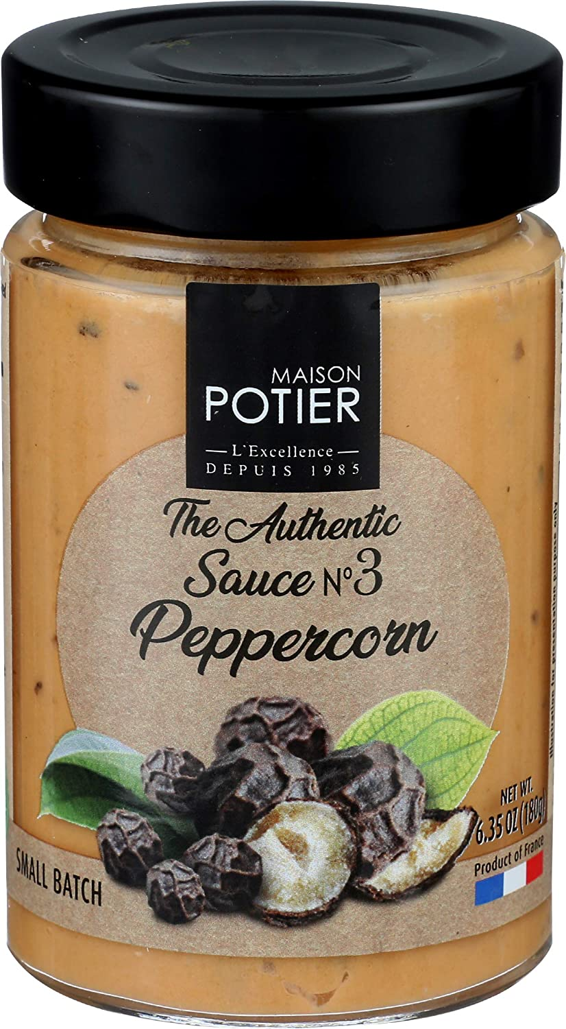 Christian Potier, Sauce Peppercorn, 6.35 Ounce
