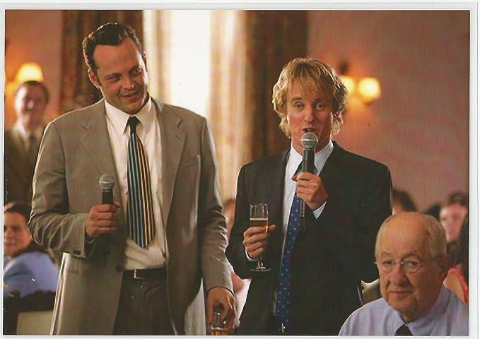 Vince Vaughn Wedding >> The Wedding Crashers Vince Vaughn And Owen Wilson 7 X 10