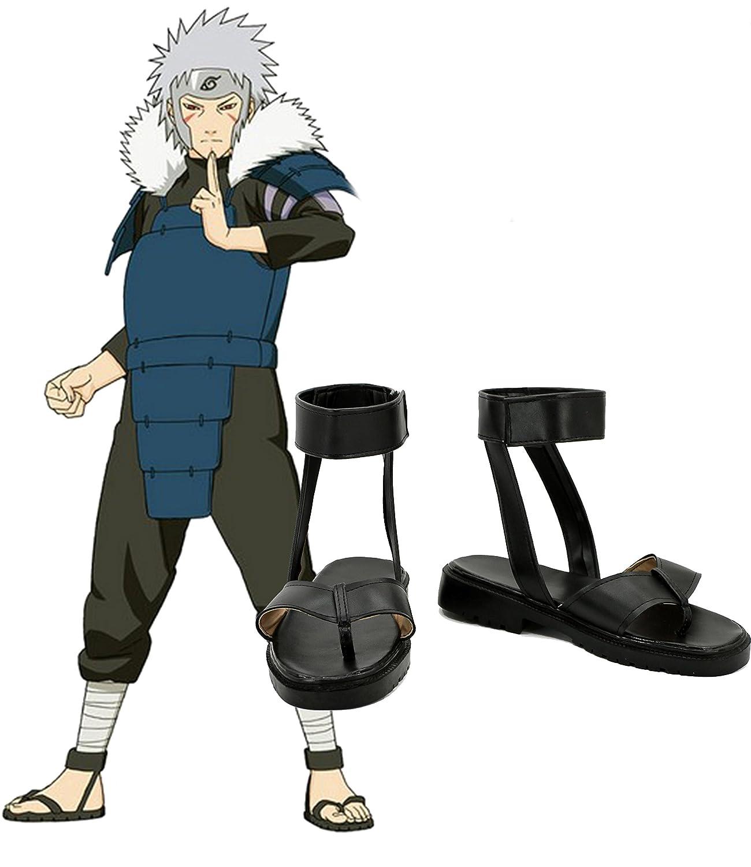 NARUTO Anime Senju Tobirama Cosplay Shoes Boots Custom Made 8.5 B(M) US Female