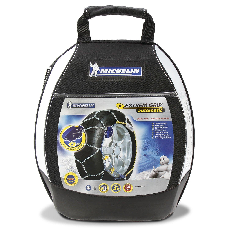 certifi/ées T/ÜV//GS et /ÖNORM compatibles ABS et ESP Michelin 92320 Cha/înes /à neige M2 avec syst/ème Extrem Grip automatique 68 2 pi/èces