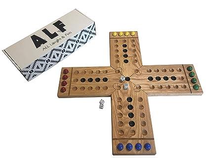 Board Game The Original Wa Hoo 15 x 15 Inches Durable Thick Chipboard Fun Game