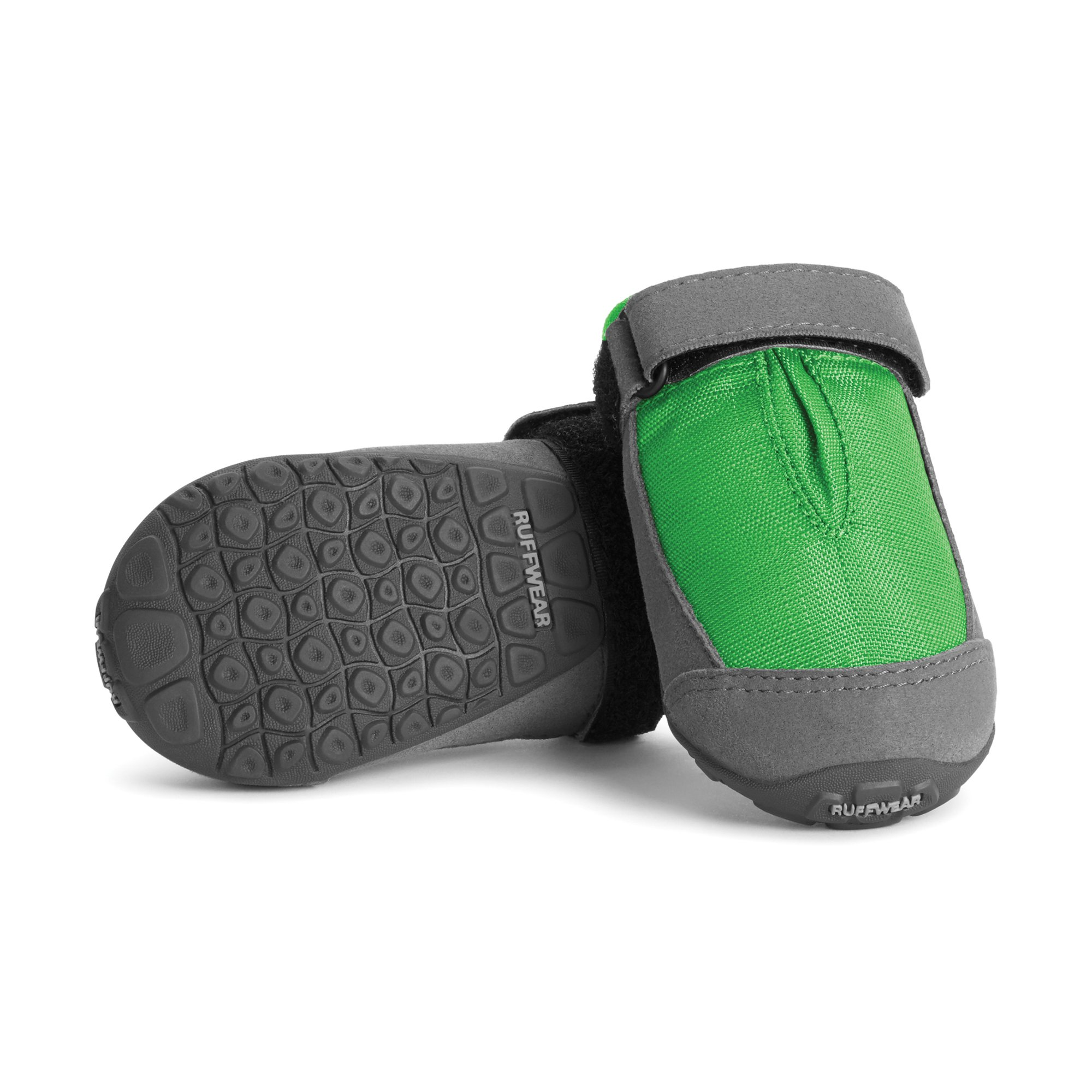 RUFFWEAR Dog Boots for Everyday Use (Set of 2), Weather Resistant, Medium Sized Breeds, Size: 64 mm/2.5 in, Meadow Green, Summit Trex, P15401-345250 by RUFFWEAR