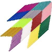 100PCS Hot Transparent Melt Glue Gun Sticks EVA Glue for Art Craft Repair Bonding DIY Small Craft Projects & Sealing and…