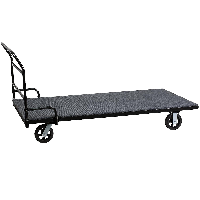 Amazon.com: Muebles de flash mesa plegable Dolly con ...