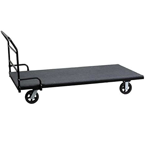 Amazon.com: Muebles de flash mesa plegable Dolly con ...