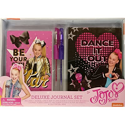 JoJo Siwa Deluxe Journal Set: Toys & Games