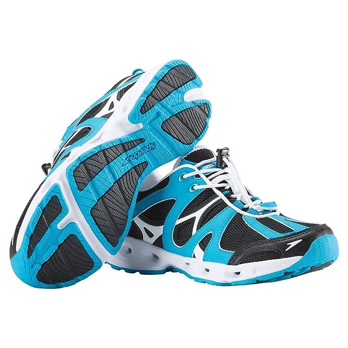 Women's Speedo Hydro Comfort 4.0 Water Shoe and Water-Resistant Carry Bag Bundle