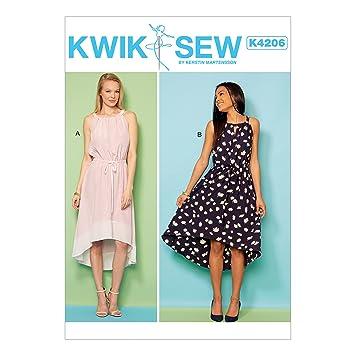 KWIK-SEW PATTERNS Kwik Sew Mustern k4206os Damenkleider ...