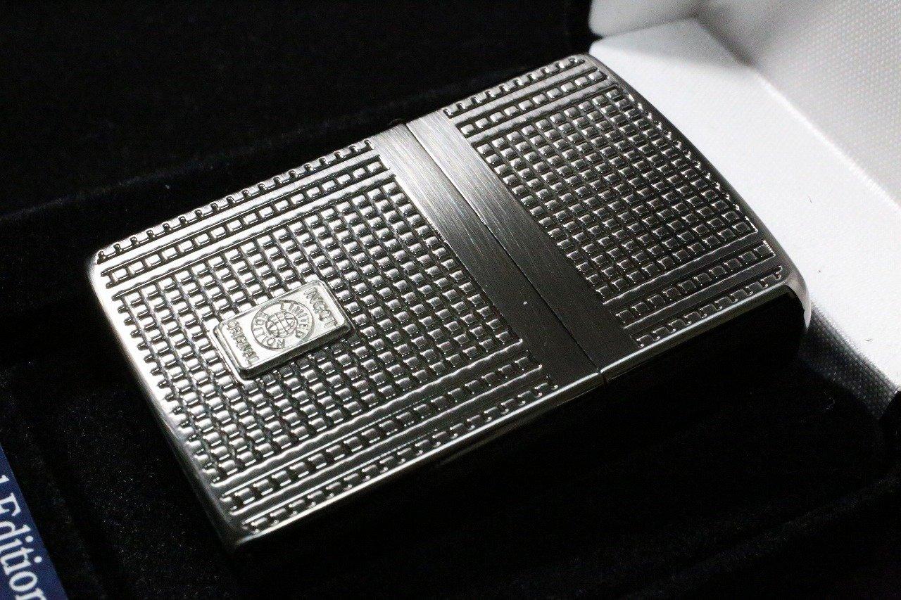 【限定ZIPPO】 限定ジッポ テグラ 彫刻ジッポ 200個限定 人気 おしゃれ 純銀インゴット B01M9DYQEL