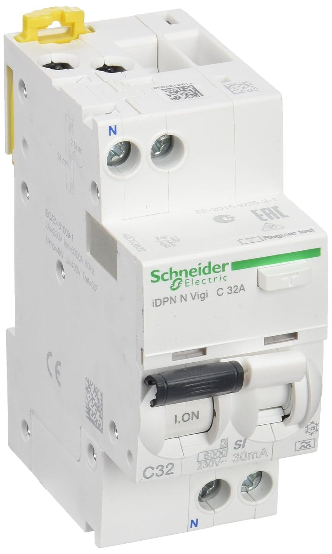 32A Schneider Electric A9D33632 Interruptor Diferencial Idpn N Vigi 1P+N 30Ma Clase Si