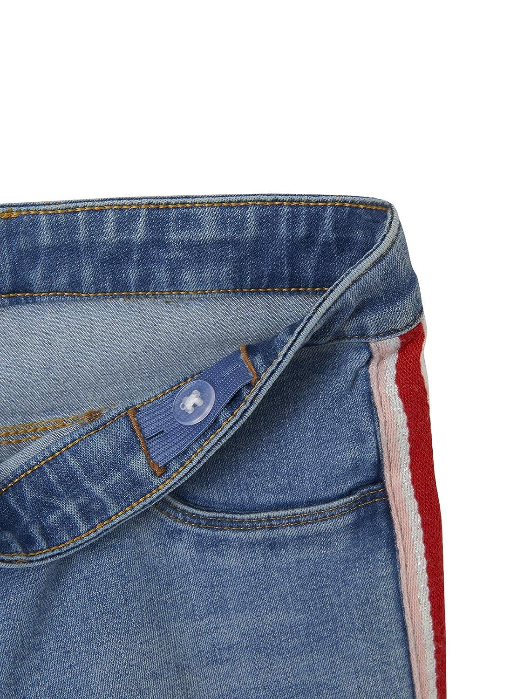 Vertbaudet Boyfriend-Jeans f/ür M/ädchen Used-Effekte