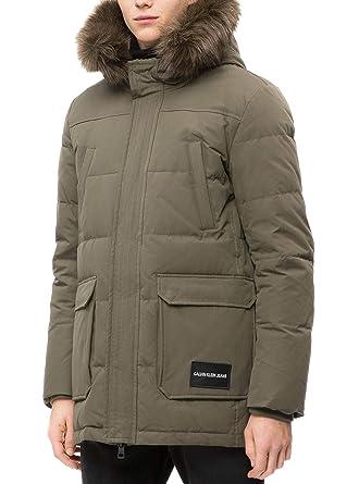 Calvin Klein Men's Jacket: Amazon.co.uk: Clothing