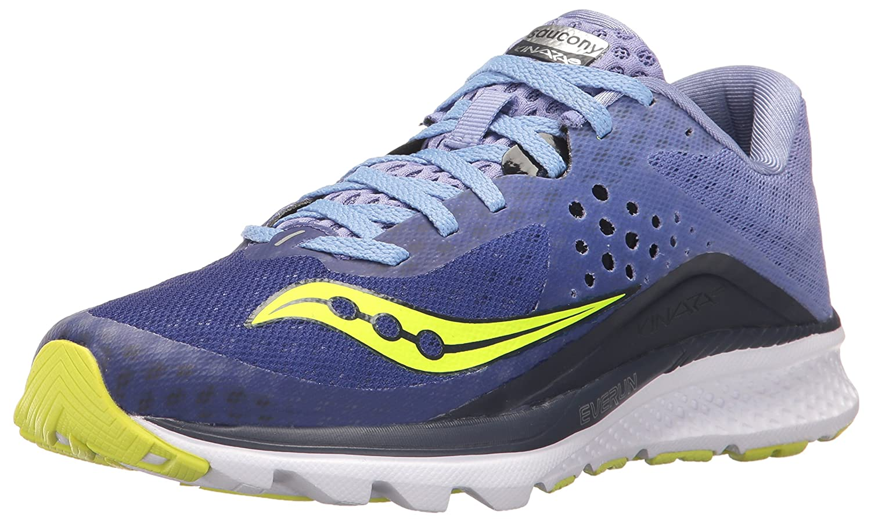 Saucony Women's Kinvara 8 Running Shoe B01MQYRJMN 9.5 B(M) US|Navy Purple