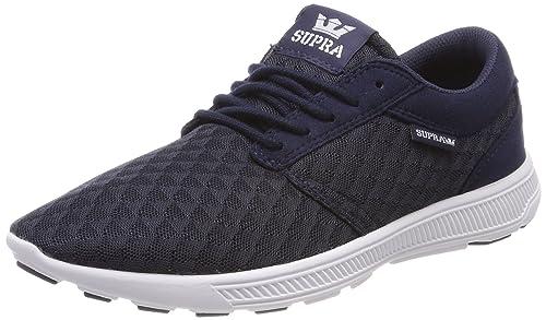 Supra Hammer Run, Zapatillas para Hombre, Azul (Navy/Lt Grey-White), 42 EU