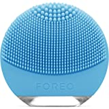 FOREO Luna Go Portable and Personalized Facial Cleansing Brush with Anti-Aging for Combination Skin, 122g