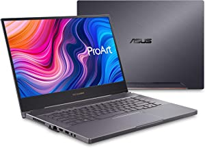 "ASUS ProArt StudioBook Pro 15 Mobile Workstation Laptop, 15.6"" UHD NanoEdge Bezel, Intel Core i7-9750H, 48GB DDR4, 2TB PCIe SSD, Nvidia Quadro RTX 5000, Windows 10 Pro, W500G5T-XS77, Star Grey"