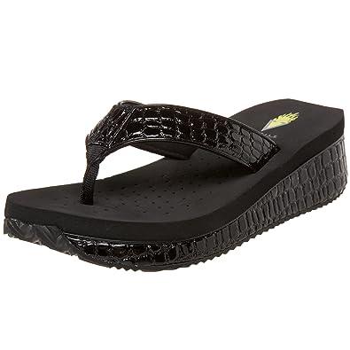 9e2784d628 Amazon.com   Volatile Women's Mini Croco Wedge Sandal   Platforms ...