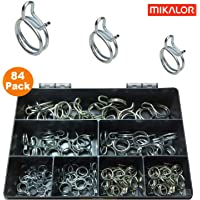 4 x 24mm Mikalor W1 Heavy Duty Spring Band Clip Radiator Pipe Air Oil Fuel DIN 3021