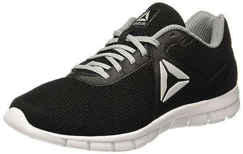 det senaste nytt utseende riktigt bekvämt Buy Reebok Men's Ultra Lite Black/Flat Grey Running Shoes-8 UK ...