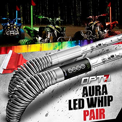 OPT7 Aura MAX All Terrain LED Whip: Amazon.es: Coche y moto