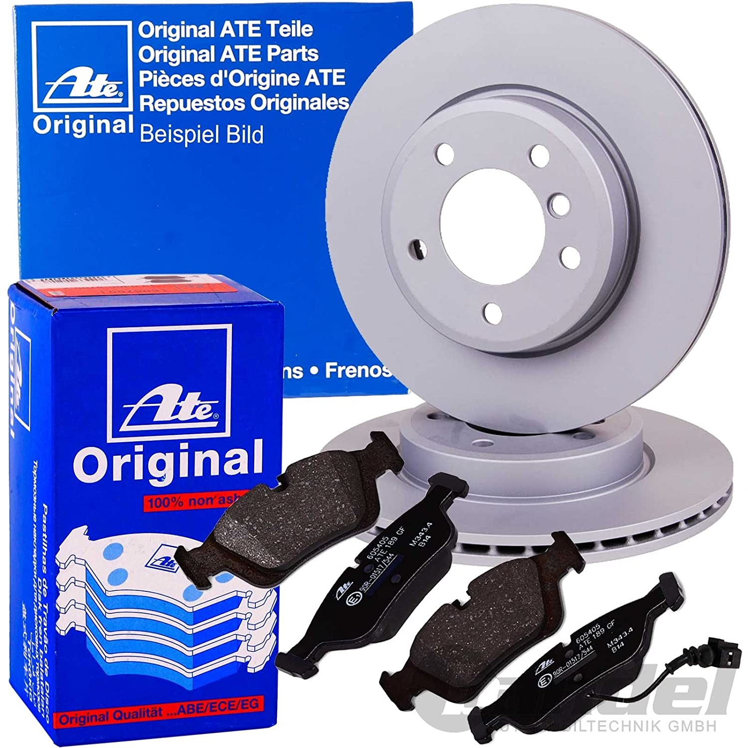 front 2 Brake Disc No of Holes 5 internally ventilated Blue Print ADH243125 Brake Disc Set