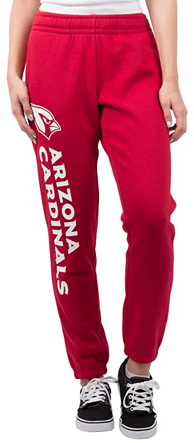NFL Women s Arizona Cardinals Jogger Pants Relax Fit Fleece Sweatpants e218f455e