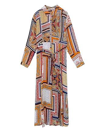 914417ac89 Zara Women s Dotted mesh Print Dress 5598 050  Amazon.co.uk  Clothing