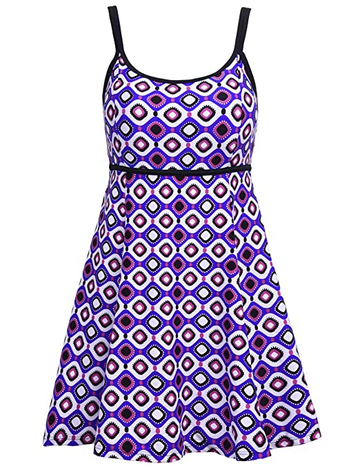Hilor Women's Bandeau Swimsuit Color Contrast…