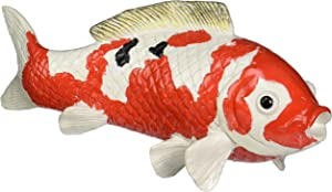 Design Toscano NG30478 Japanese Floating Koi Large Sculpture,Full Color