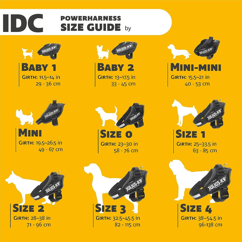 Size Pink 2//71-96 cm//28-37.5 Julius-K9 IDC-Power Harness
