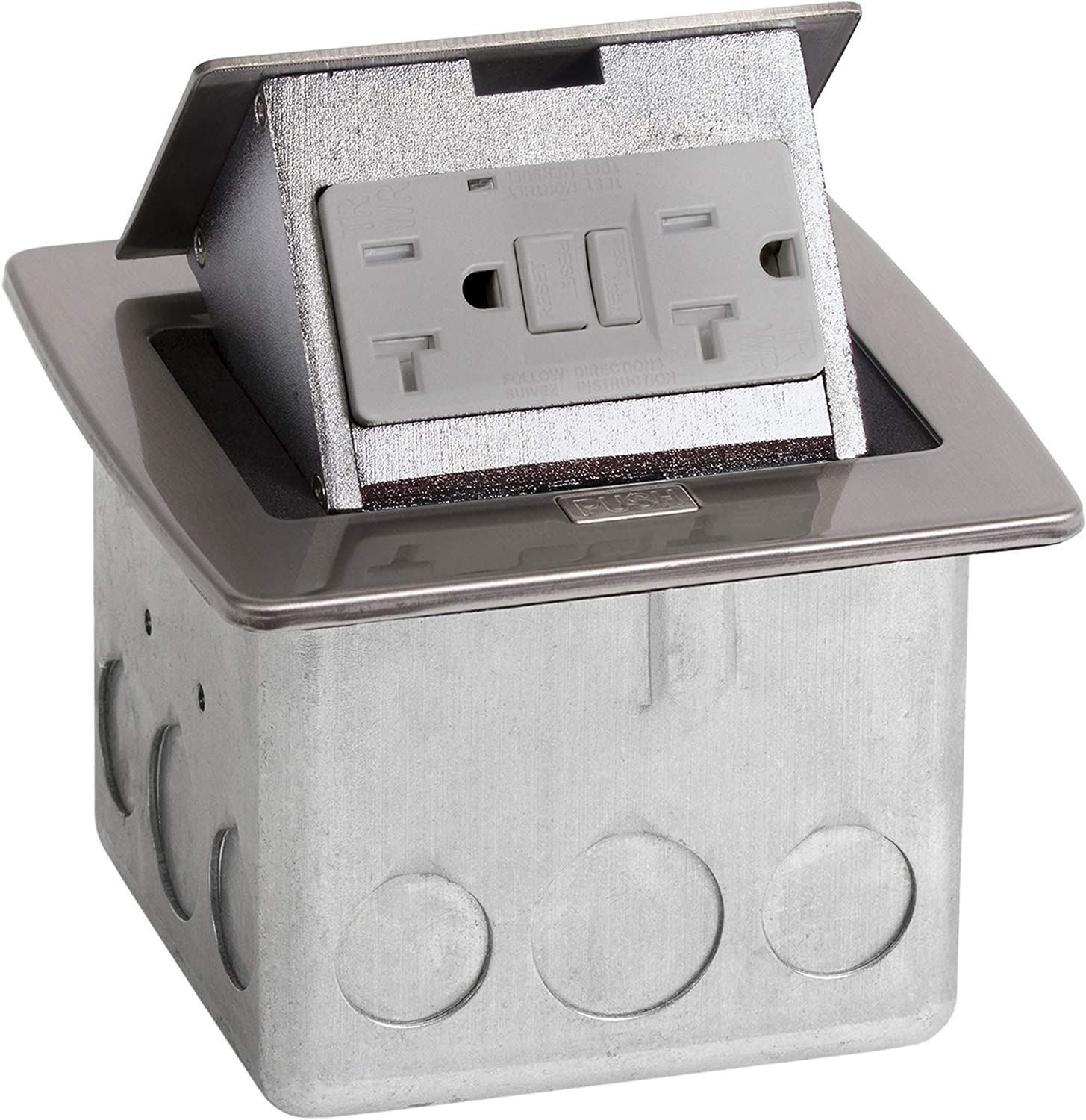 Lew Electric PUR20-GFI Nickel Stainless