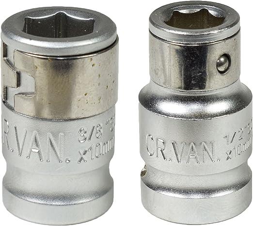 1//4 sq 3 in 1 Mini Ratchet 10 mm 1//4 Hex adaptors