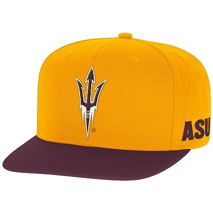 san francisco 81906 0e253 NCAA Arizona State Sun Devils Men s 2-Tone Flat-Brim Snapback Cap, One