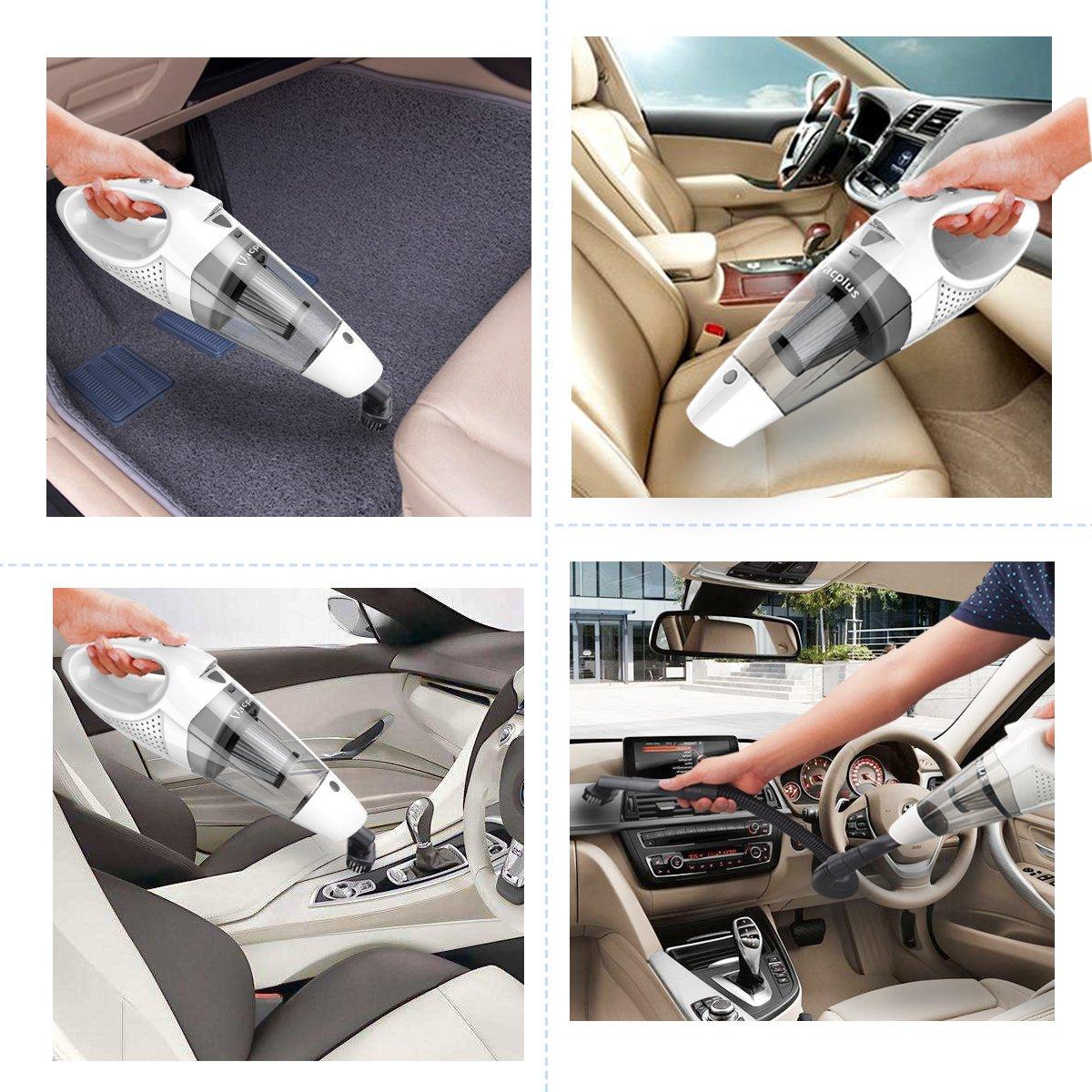 吸引力の強い車掃除機