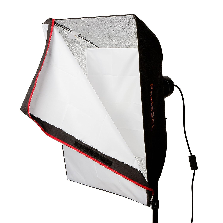 PhotoSEL LH21E51 Lampada per studio Softbox da 85 W
