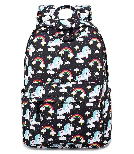Amazon.com: Abshoo Mochilas infantiles de unicornio ligeras ...