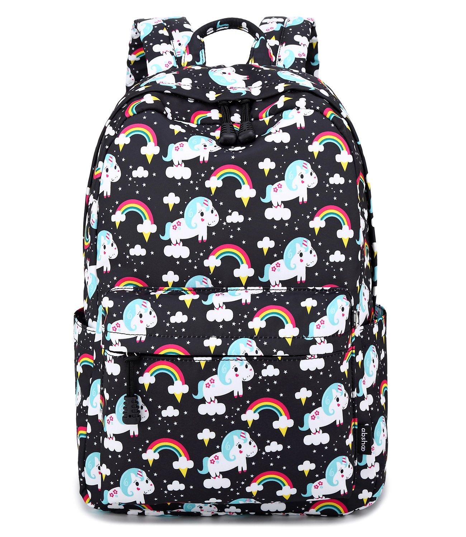 Abshoo Cute Lightweight Unicorn Backpacks Girls School Bags Kids Bookbags 3