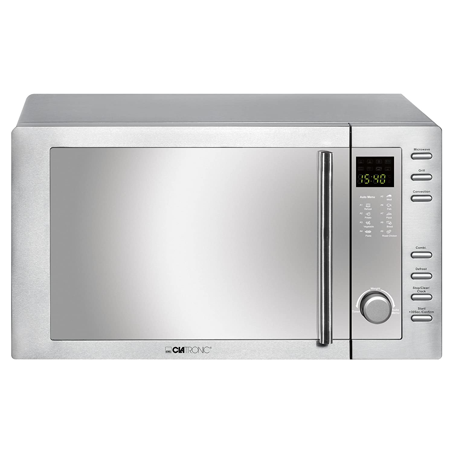 Clatronic MWG 775 H Combined Microwave Oven with Grill and Convection MWG775H