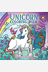 Unicorn Coloring Book: For Kids Ages 4-8 (Coloring Books for Kids) Paperback