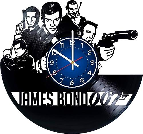 JAMES BOND 12 inches / 30 cm Vinyl Record Wall Clock