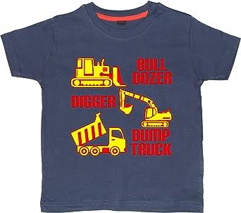 Edward Sinclair Baby Boys Excavator /& Dump Truck T-Shirt