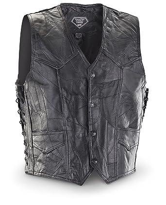 3a2dc64bc Rocky Ranch Hides Side Lace Vest at Amazon Women s Coats Shop