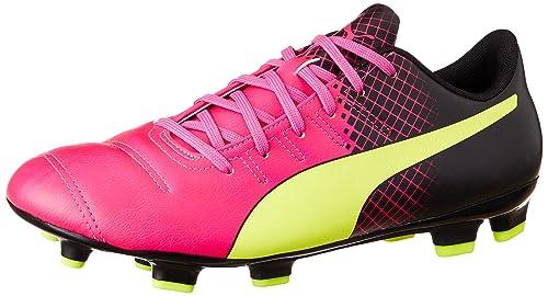 PumaevoPOWER 3.3 Tricks FG - Zapatillas de Fútbol Entrenamiento Hombre, Color Rosa, Talla 46