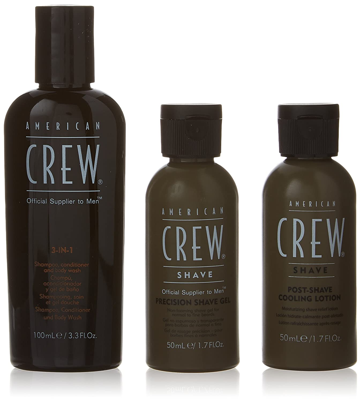 American Crew Travel Grooming Kit, 3 Count