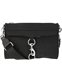 8b3004ffe Amazon.com: Rebecca Minkoff Women's Nylon Flap Crossbody Vintage ...