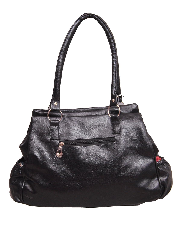 Gracetop Women s Handbag (Black,5Gla-Blk)  Amazon.in  Shoes   Handbags 7408ea8d06