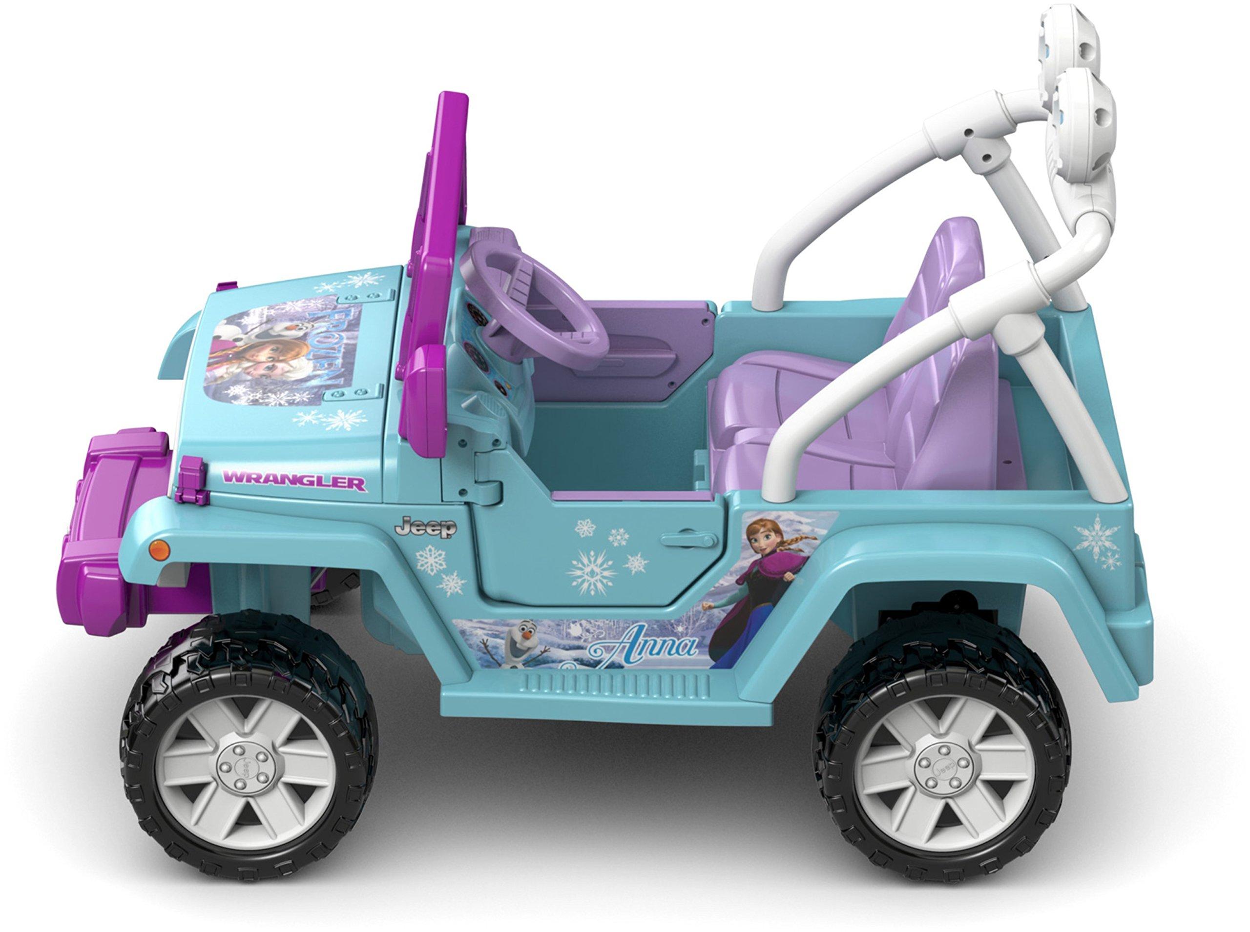 Power Wheels Disney Frozen Jeep Wrangler by Fisher-Price (Image #11)