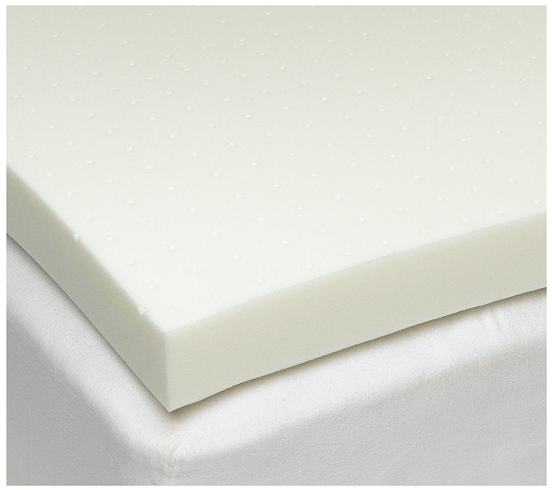 SleepJoy 3'' ViscO2 Ventilated Memory Foam Mattress Topper, King
